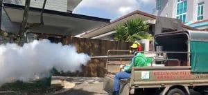 Vehicle mounted fogger